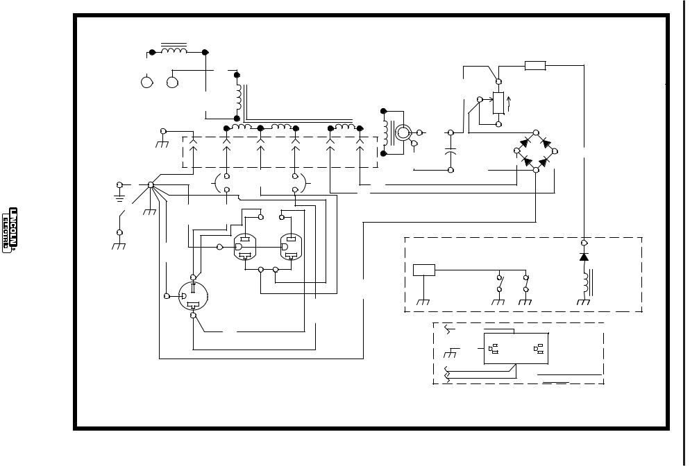 Lincoln Electric POWER-ARC 4000 User Manual
