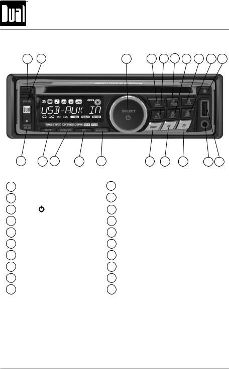 Dual XDM6350 User Manual