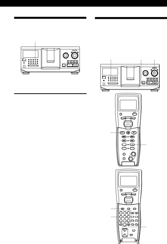 Sony CDP-CX555ES User Manual