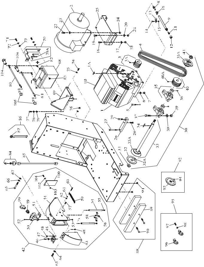 Husqvarna PAC IV-10Y, PAC IV-14KM, PAC IV-11R, PAC IV-13