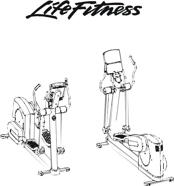 Life Fitness Cross-Trainer User Manual