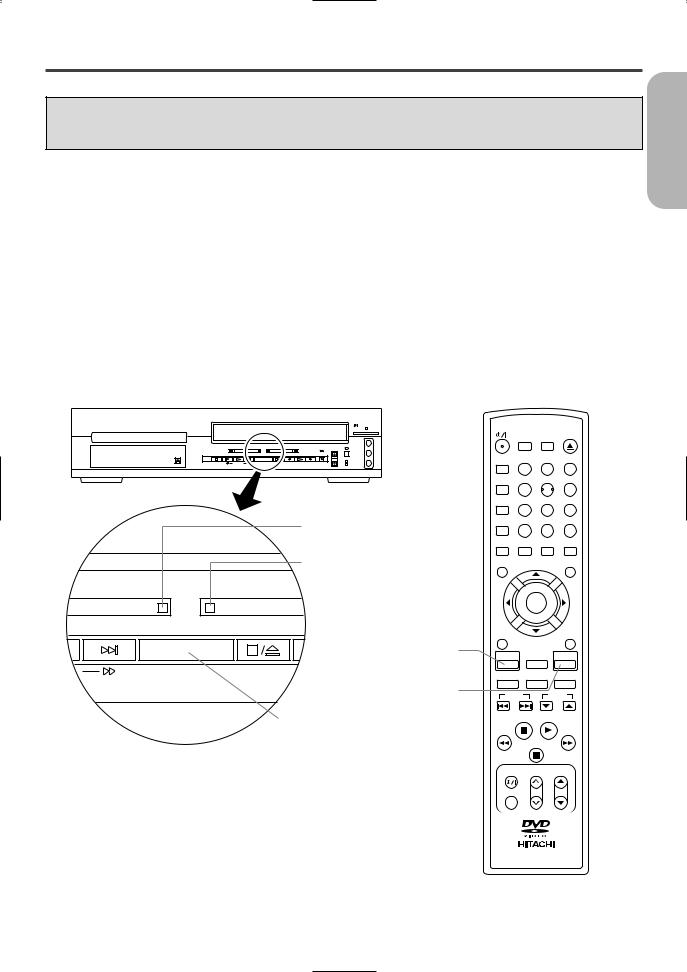 Hitachi DV-PF2U User Manual