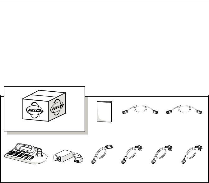 Pelco CM9760-KBR User Manual