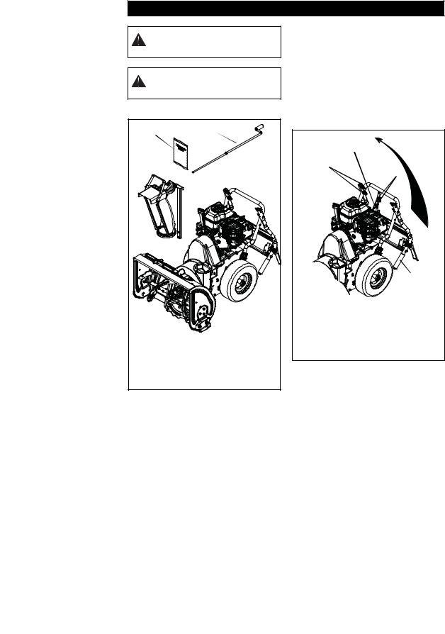 Ariens 920006, 920007, 920010 User Manual
