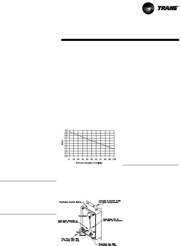 Trane IntelliPak Self-Contained Modu User Manual