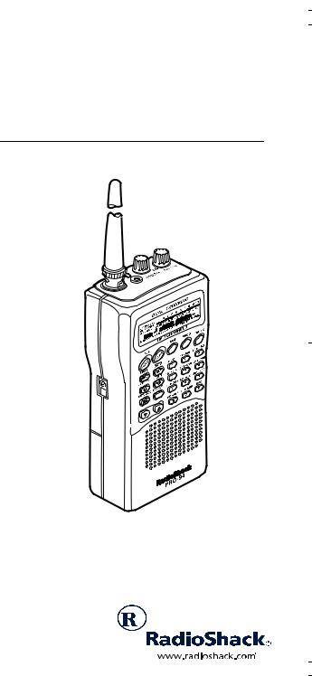 Radio Shack PRO-94 User Manual