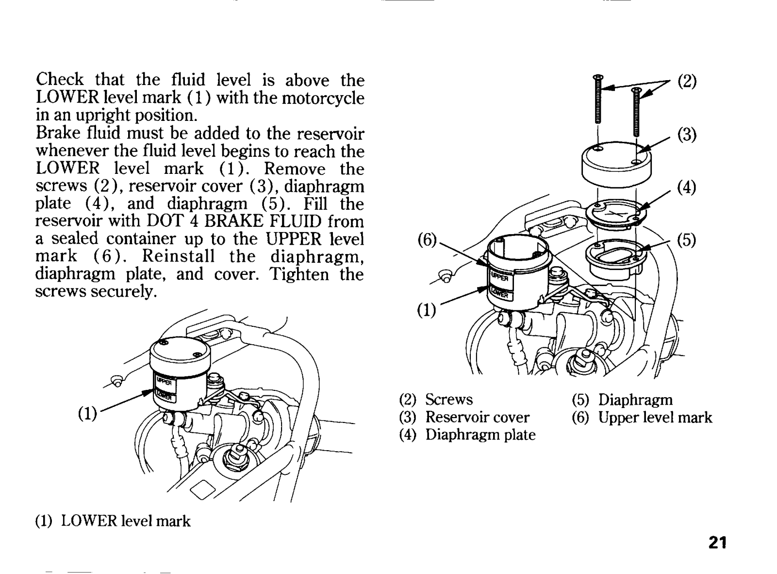 Honda CBR900RRW/FIRE/BLADE Owner's Manual