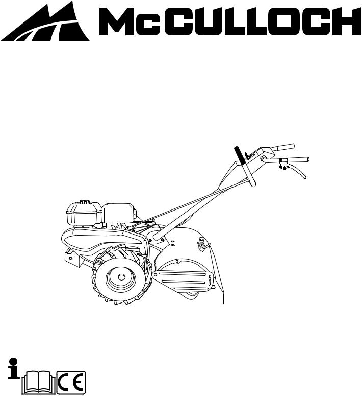 McCulloch MRT6 User Manual