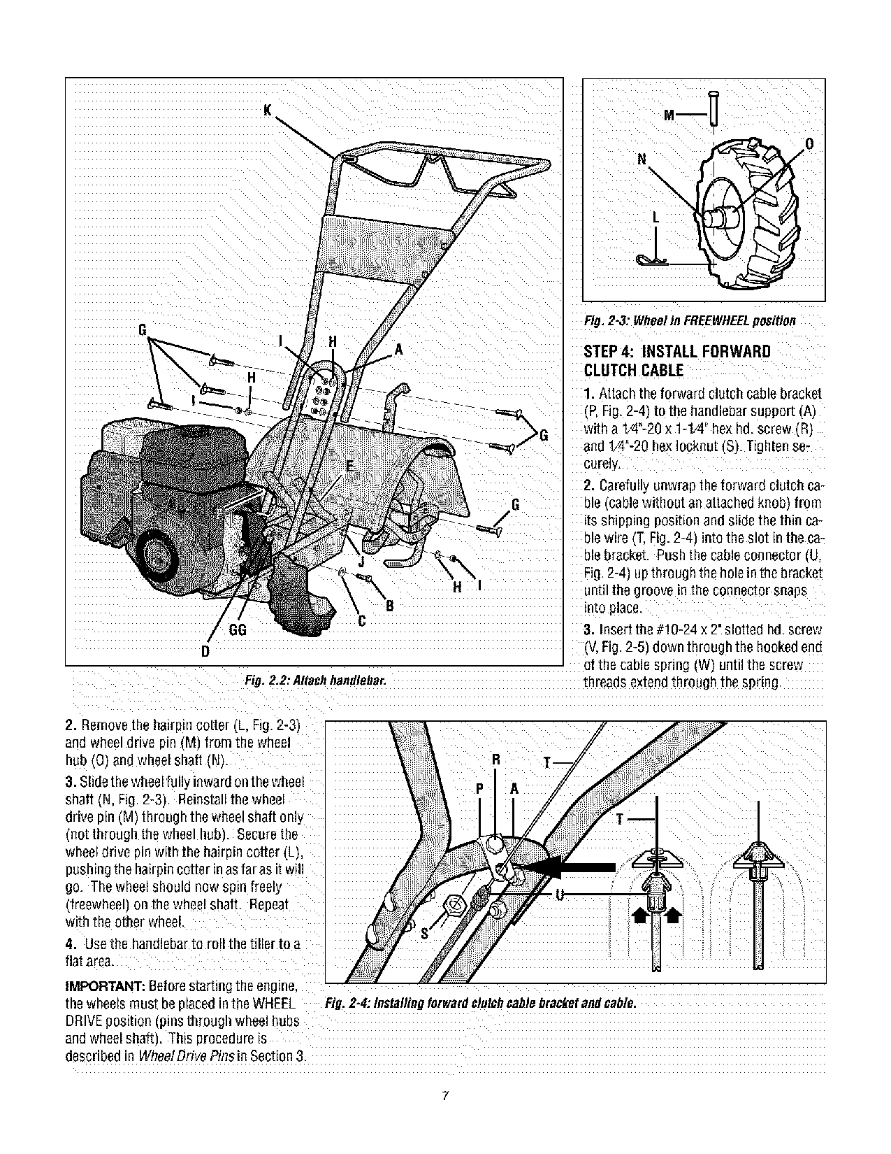 Troy-Bilt TUFFY 634BM, TUFFY 634FM User Manual