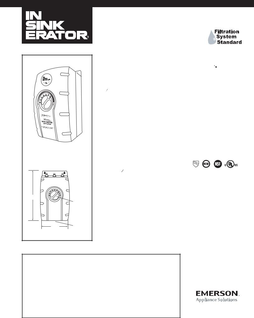 InSinkErator SST-FLTR, Model SST-FLTR User Manual