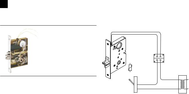 Schlage L-SERIES User Manual