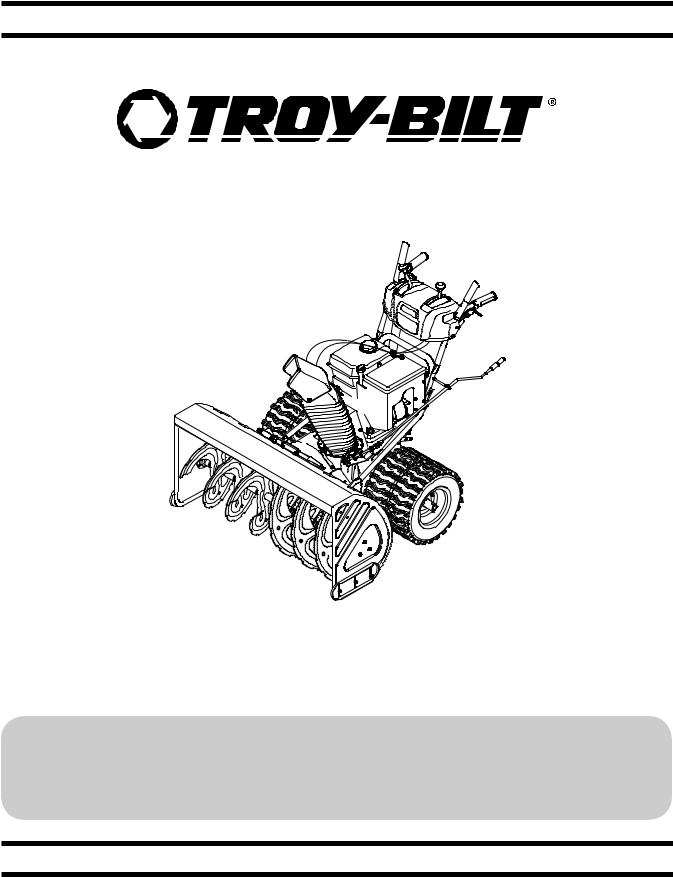 Troy-Bilt Polar Blast 4510 Owner's Manual