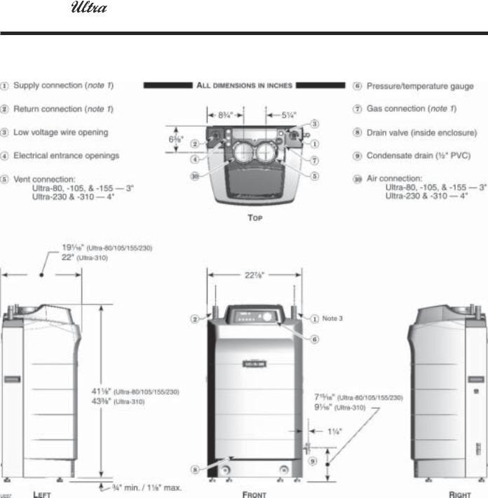Weil-McLain ULTRA 80 User Manual 2