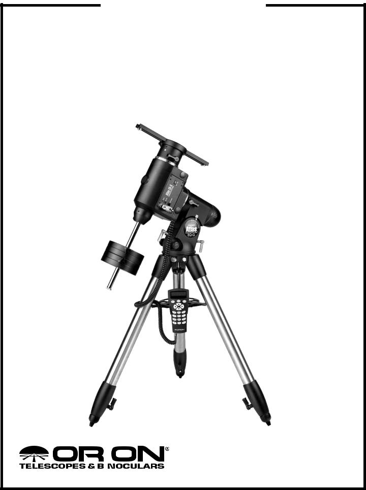 Orion ATLAS EQ-G User Manual