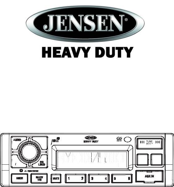 Jensen JHD1120 User Manual