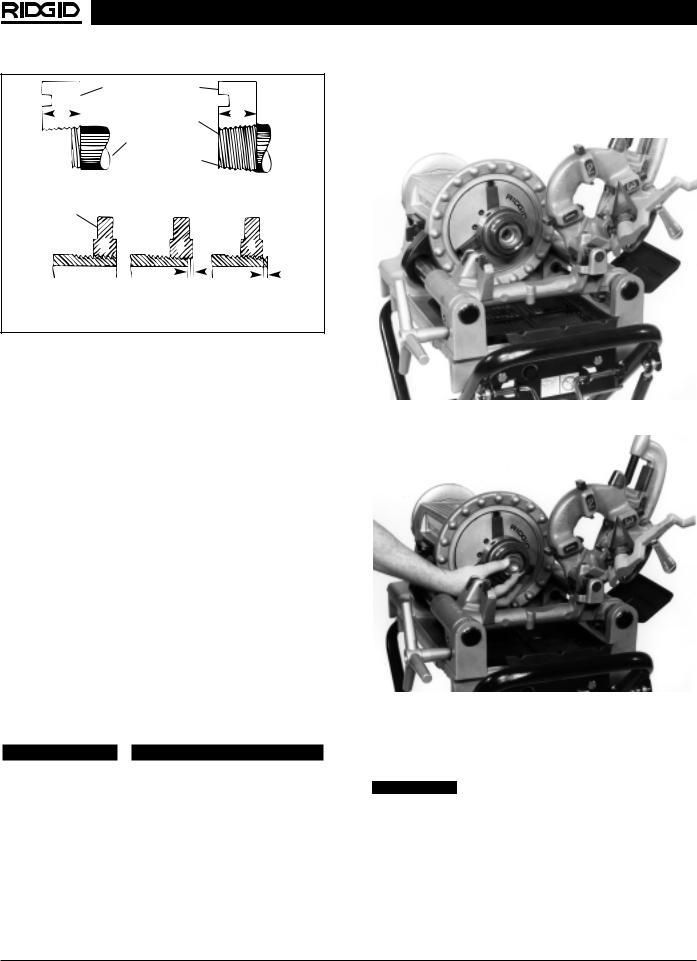 RIDGID 300 Compact User Manual