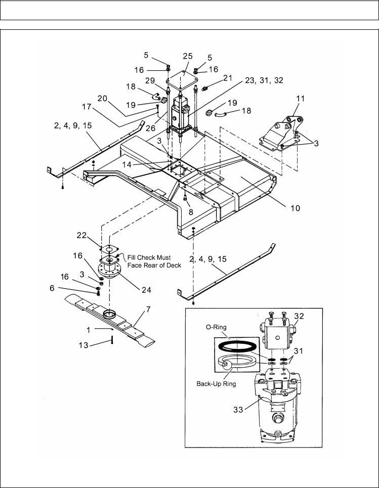 Alamo BOOM ARM MOWER 02968915P User Manual