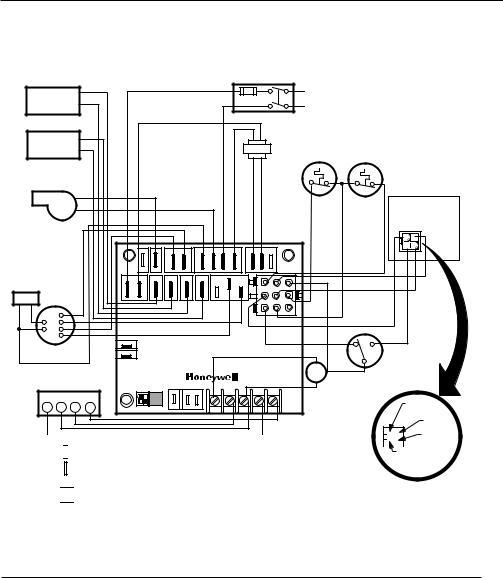 Honeywell ST9141A1002 User Manual