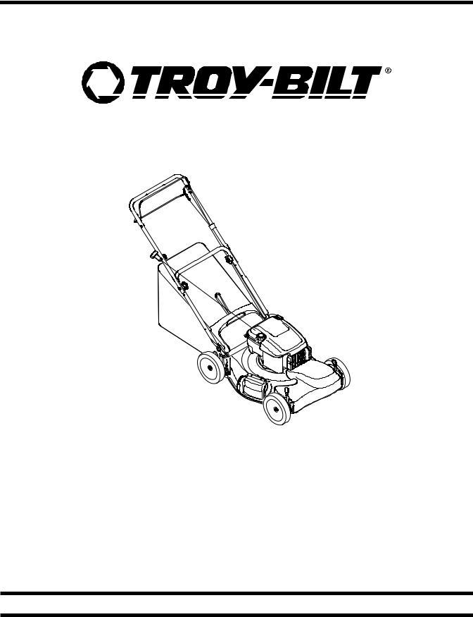 Troy-Bilt TB210, TB230, TB260, TB280 ES, TB330 XP, TB350