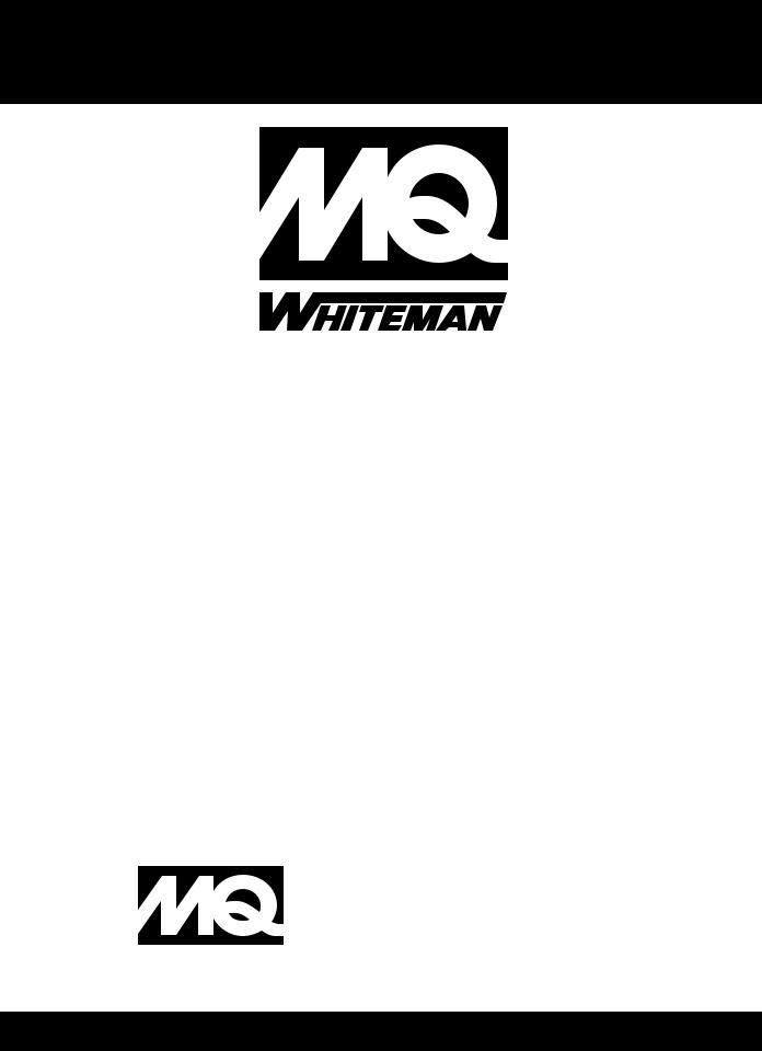 Multiquip WM- 700S, WM-700P User Manual