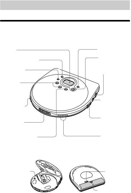 Sony CD Walkman D-EJ711, D-E770, CD Walkman D-EJ715 User