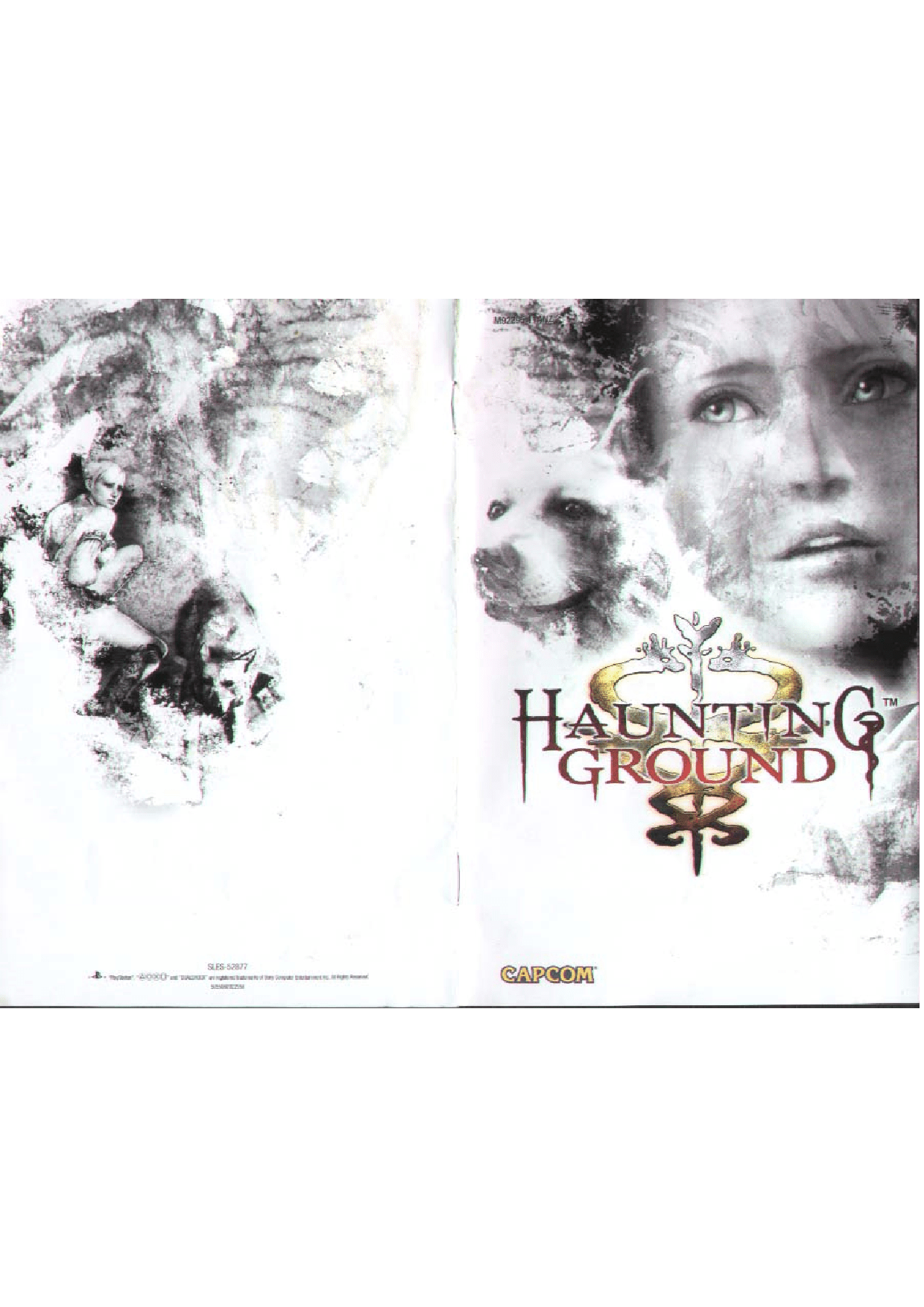 Games PS2 HAUNTING GROUND User Manual