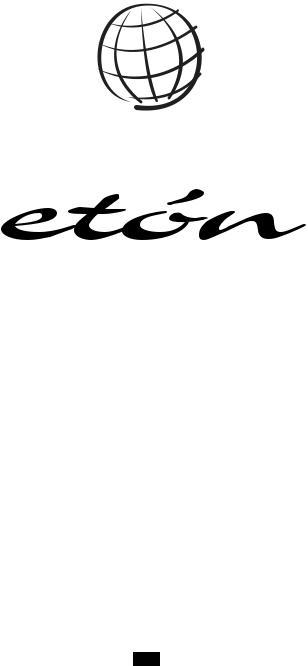 Eton ESP2100 User Manual
