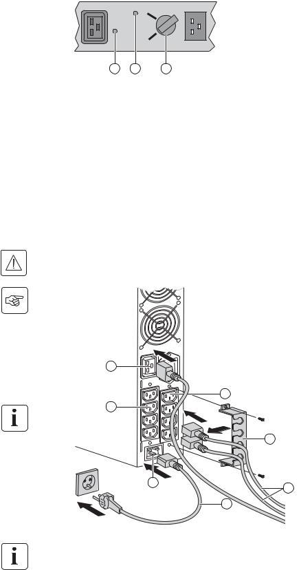 Eaton EX 3000 RT3U HotSwap DIN (68413) User Manual