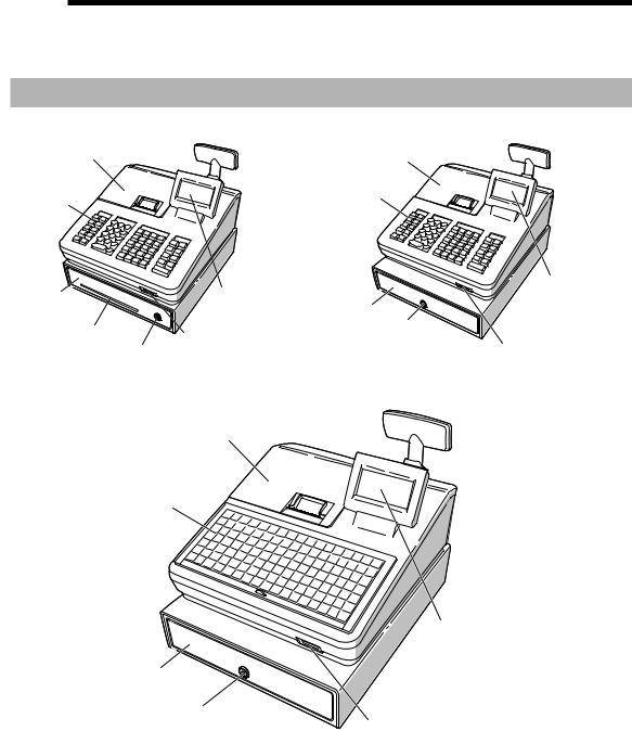 Sharp XE-A217B, XE-A207W User Manual