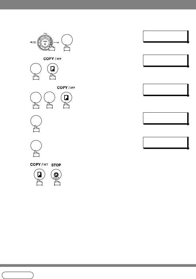 Panasonic UF-5100, Panafax UF-6100 User Manual