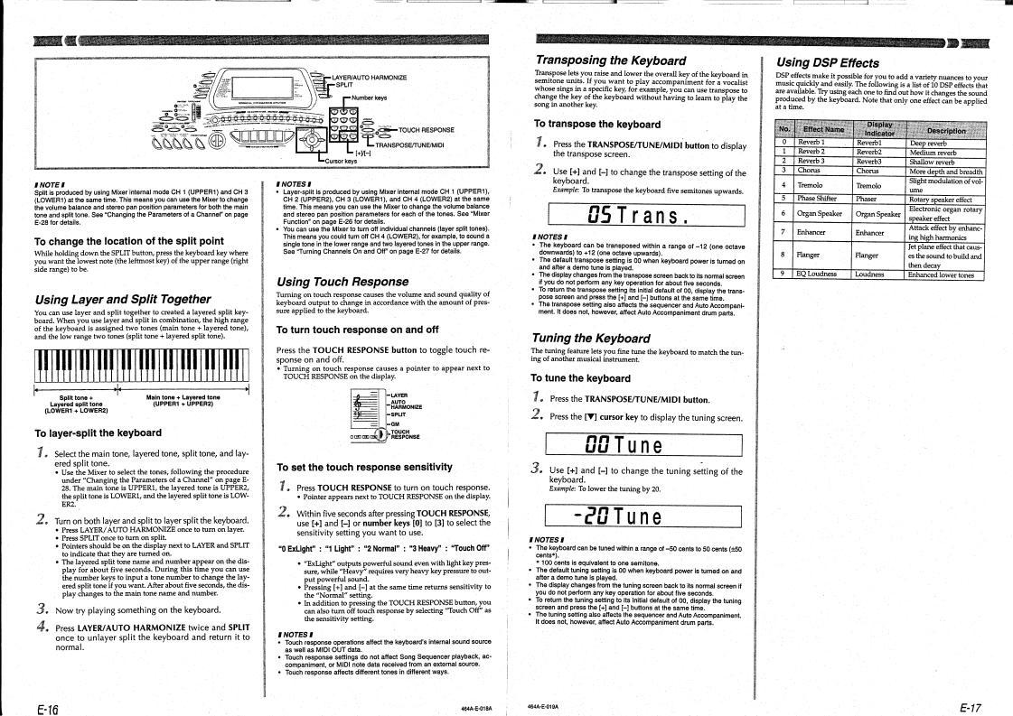 CASIO CTK-731 User Manual