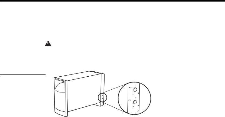 Bose Acoustimass 10 Series IV User Manual
