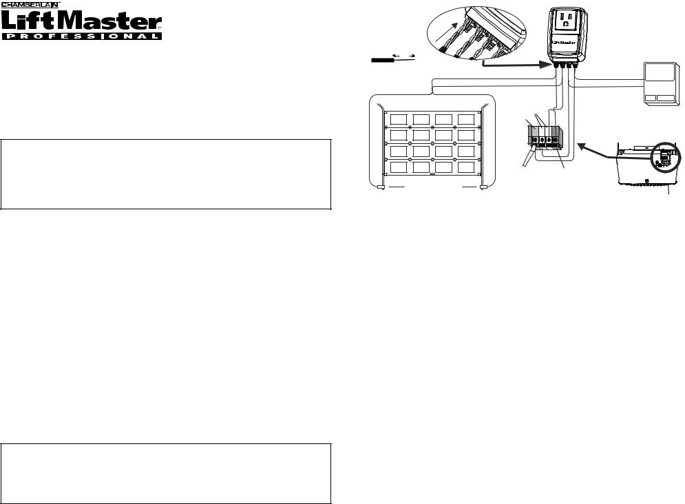 Chamberlain LIFTMASTER 990LM, 990LM Surge Protector User