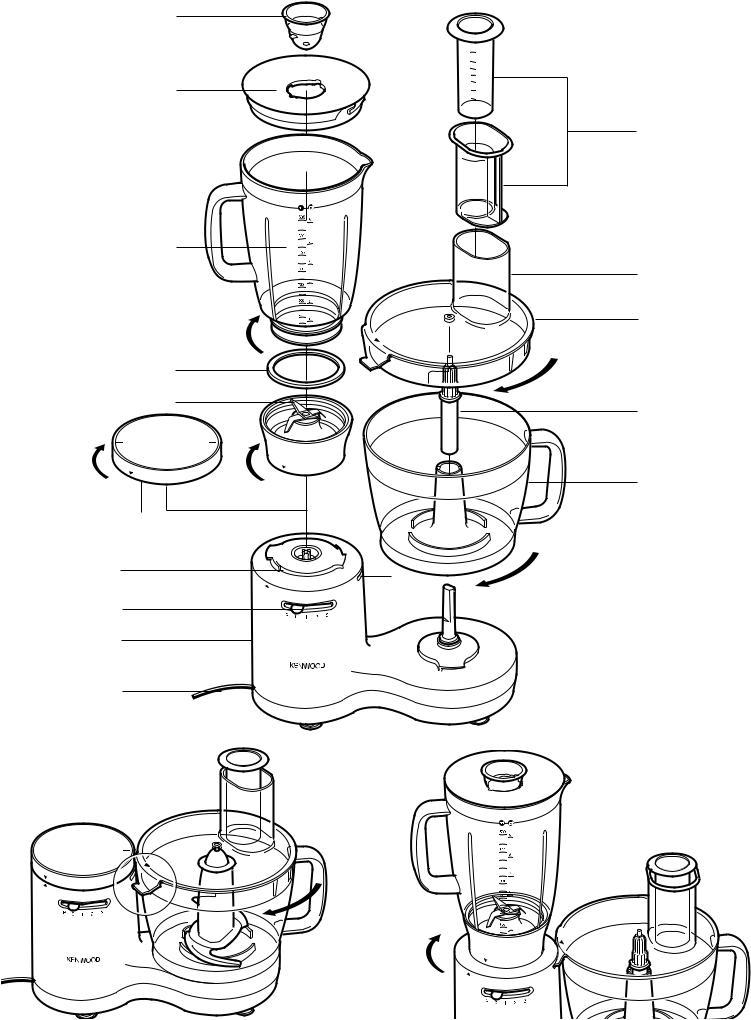 Kenwood FP510 series, FP520 series, FP530 series User Manual
