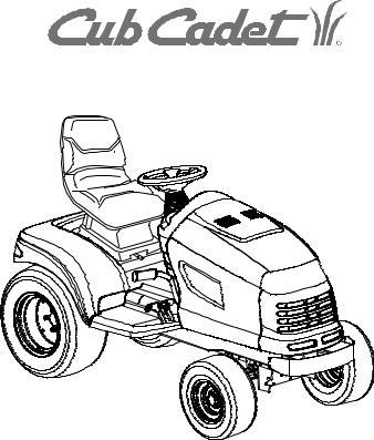 Cub Cadet SERIES 3000 GT 3200, GT 3200 User Manual