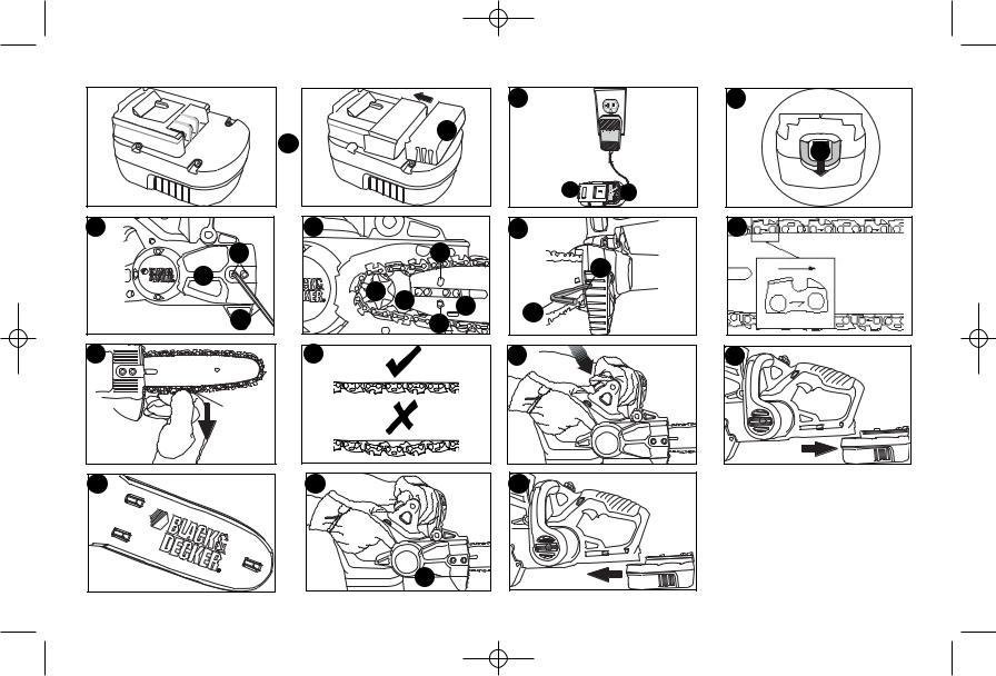 Black & Decker CCS818 User Manual