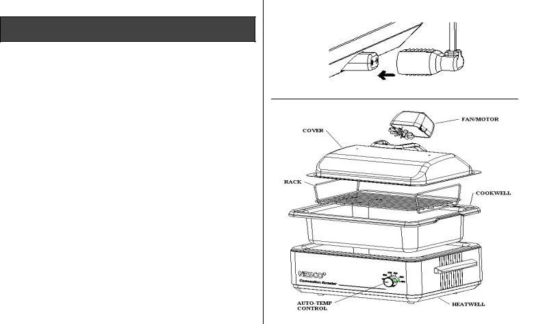 Nesco Convection Roaster Oven User Manual
