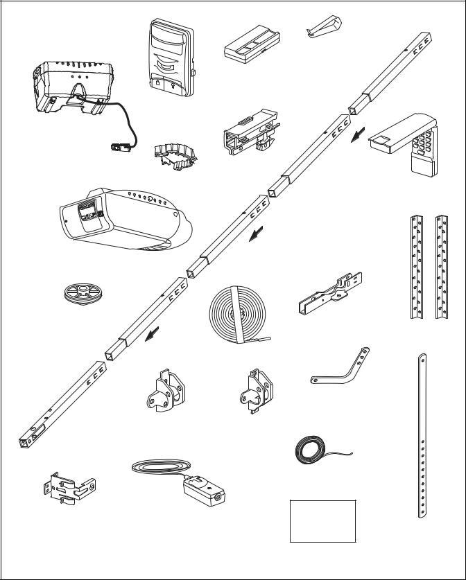 Chamberlain WD952KD, WD952LD User Manual