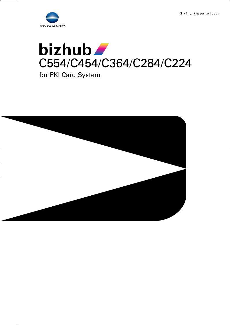 Konica Minolta bizhub C364 User Manual