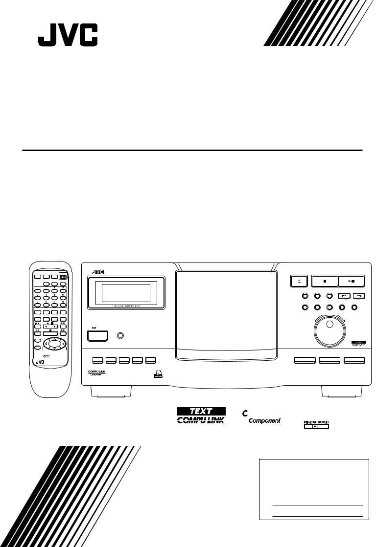 JVC XL-MC334BK User Manual