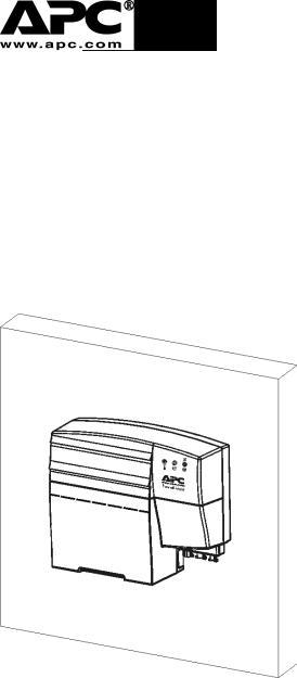 APC CP27, CP16 User Manual