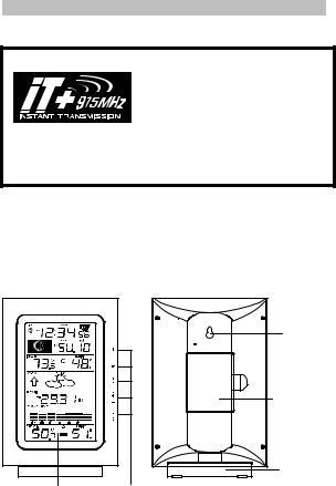 La Crosse Technology WS-9037U-IT User Manual