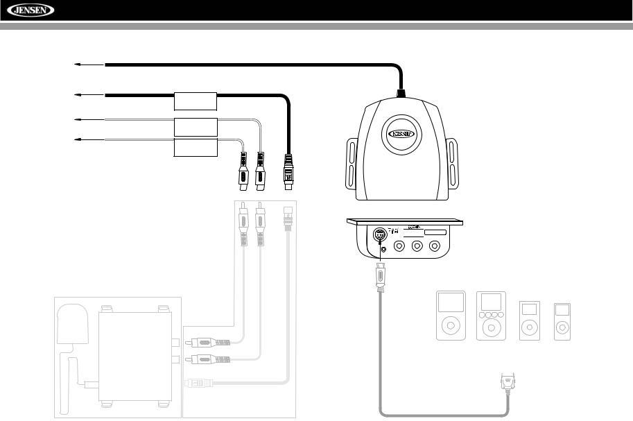 Jensen VM9022 User Manual