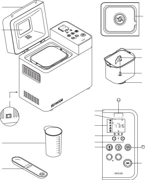 Kenwood BM350 User Manual
