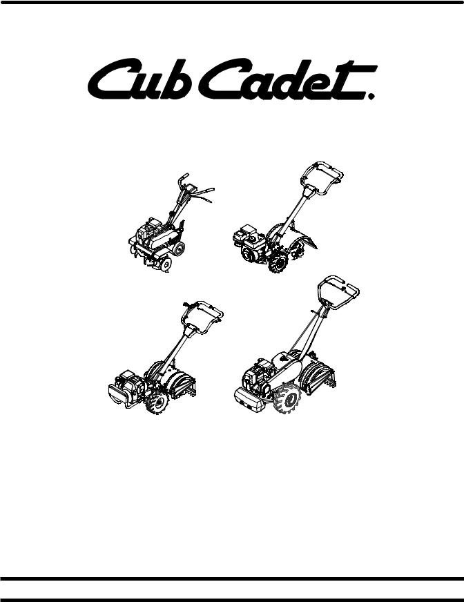 Cub Cadet Cub Cadet Tiller RT 35, Cub Cadet Tiller FT24