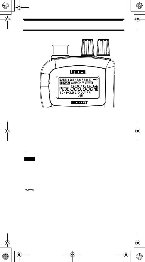 Uniden UBC92XLT User Manual