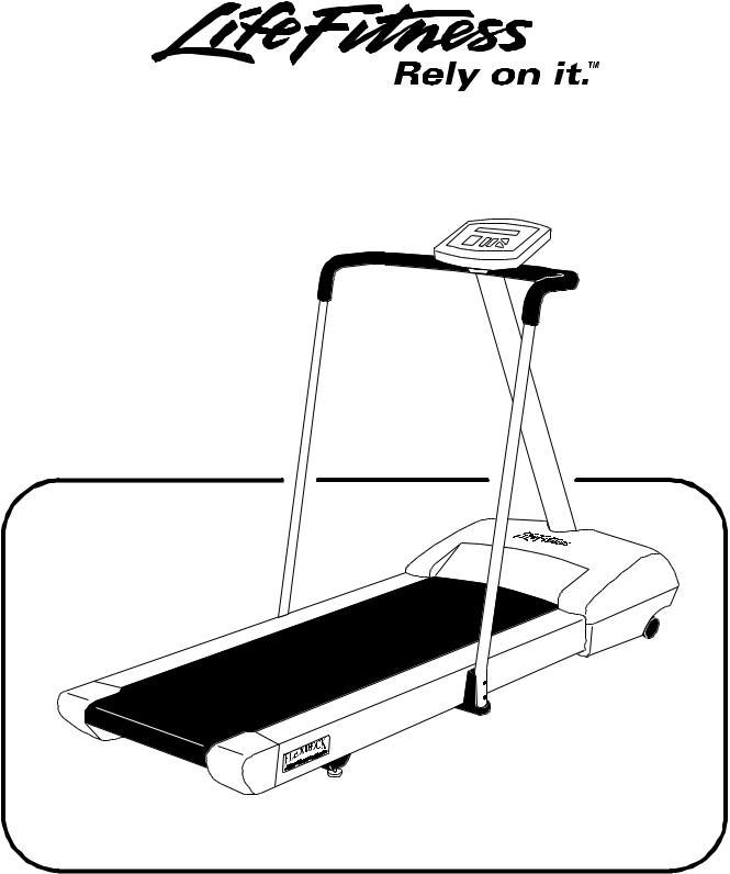Life Fitness 4000 User Manual