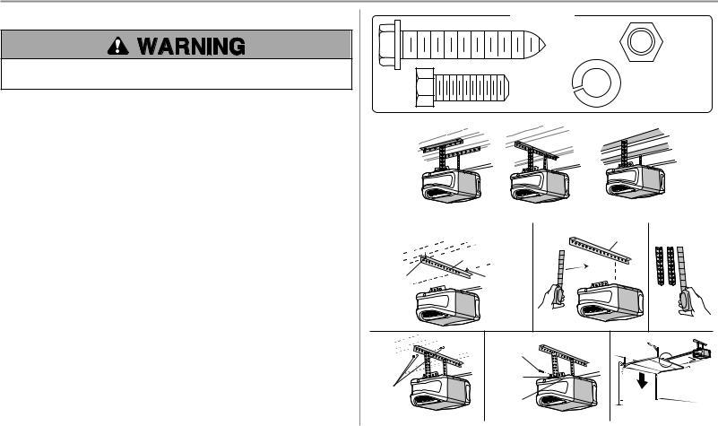 Chamberlain B980 User Manual
