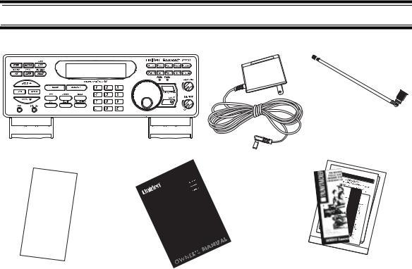 Uniden BC898T User Manual