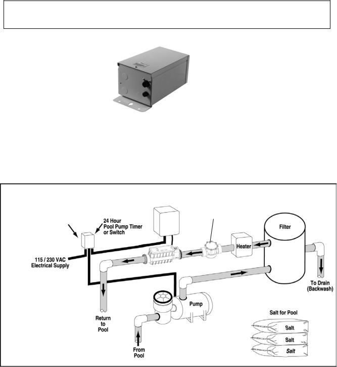 Pentair IC20, IC40 User Manual